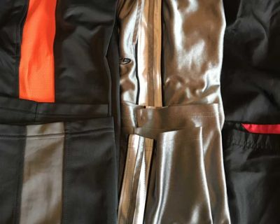 Boys Athletic pants. Two IUC one new