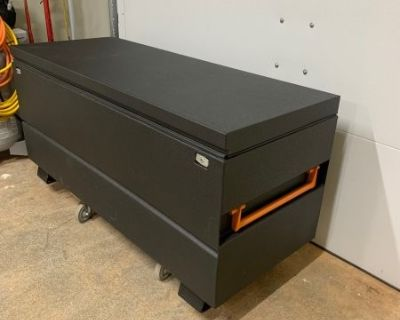 FS truck tool box, LineX coating
