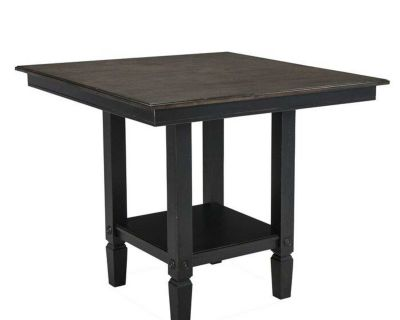 Solid Wood Square Pub Table