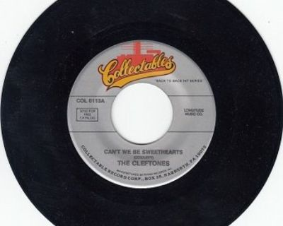 CLEFTONES ~ Can't We Be Sweethearts*Mint-45 !