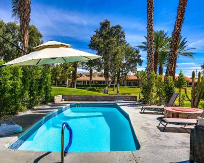 Relaxing, family-friendly home w/ a private pool & firepit - golf on-site! - Rancho Mirage