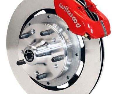 "64-67 Chevy Ii Nova Wilwood Big 12"" Front Disk Brake Kit Red 140-7675-r"