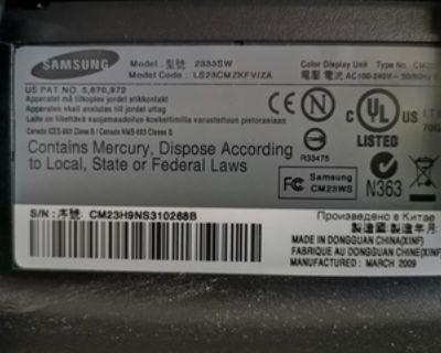 "Monitor 23"" Samsung S2333SW"