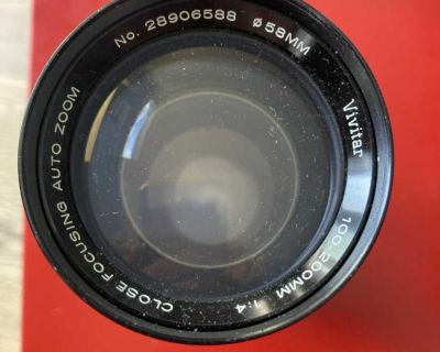 Vivitar 100-200mm f/1:4 Close Focusing Auto Zoom Lens