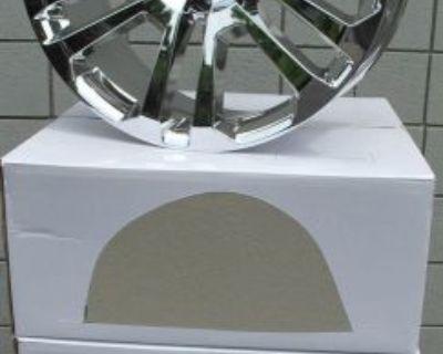 "22"" New Gmc Yukon Sierra Chevrolet Escalade Factory Style Chrome Wheels Rims"