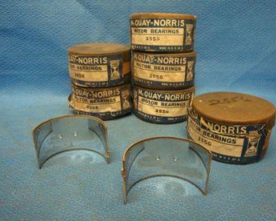 1933 - 1956 Rambler Nash 218 232.6 235 252 Rod Bearing Set 002 6 Cyl