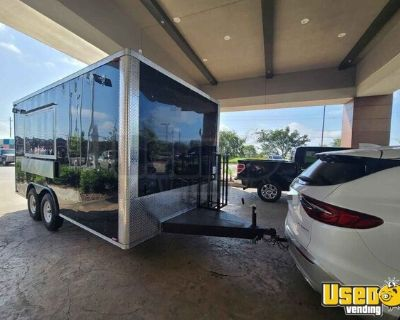 Brand New 2021 - 8.5' x 16' Mobile Kitchen / New Food Concession Trailer