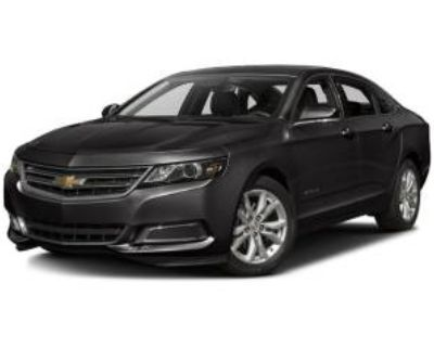 2017 Chevrolet Impala LT with 1LT