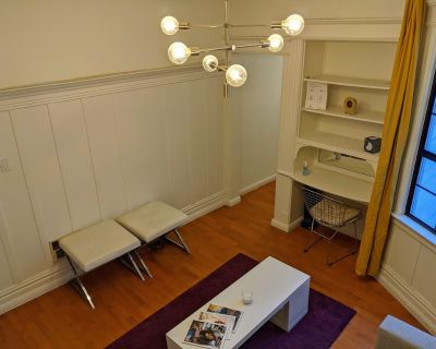 Beautiful furnished large 2 bedroom apartment in the heart of San Francisco - South of Market