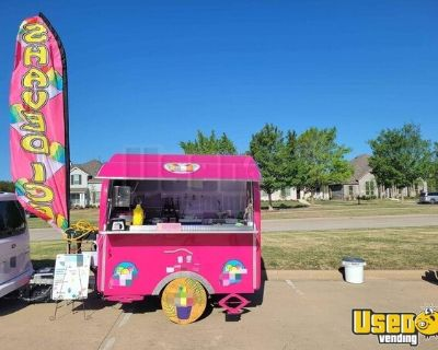 Very Cute 2020 Shaved Ice Concession Trailer / Snowball Concession Trailer