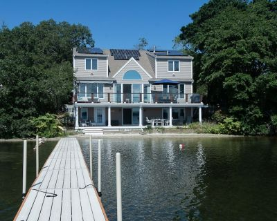 A perfect beachfront house with incredible water views from every room! - Cedarville