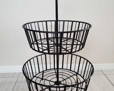 Large Wrought Iron Stand