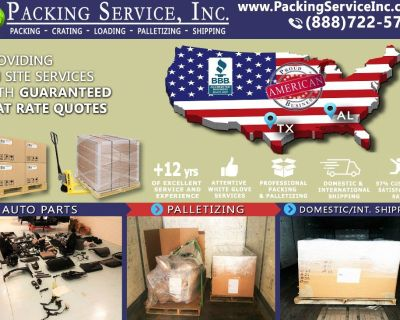 Packing Service, Inc. Professional Shipping and Packing Boxes - Wichita, Texas