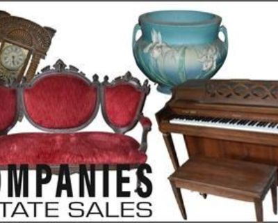 Companies Estate Sales Presents: Riverdale Single Owner Sale: Vintage Furniture and Collectables