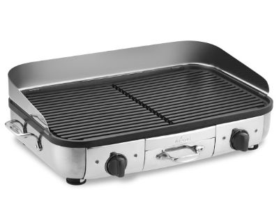 ALL CLAD REVERSIBLE GRIDDLE NEVER USED