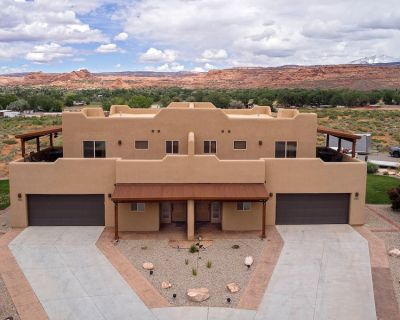 Sg4 | Huge Wrap-Around Deck With Views & 15 Minutes From Arches National Park - Moab South Valley
