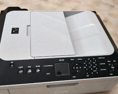 Canon MX330 Used Printer great condition.