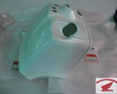 Genuine Honda Ruckus Nps50 Battery Box Cover Front And Back Set White