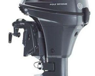 Yamaha Outboard Motor, Long Shaft, Electric Start, 9.9 Hp 4 Cycle