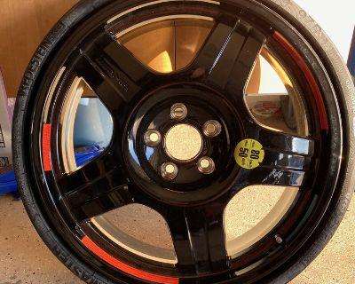 19 6.5 Inch Compact Emergency Spare Wheel Rim Tire 2304012702 2124004200 OEM Mercedes