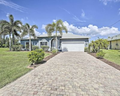 NEW! Modern Cape Coral Home w/Pool, Patio & Grill - Burnt Store