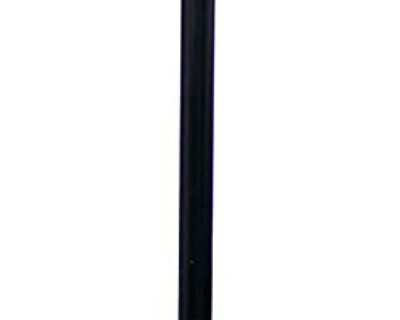 Marbelized Glass Shade Floor Lamp - New!