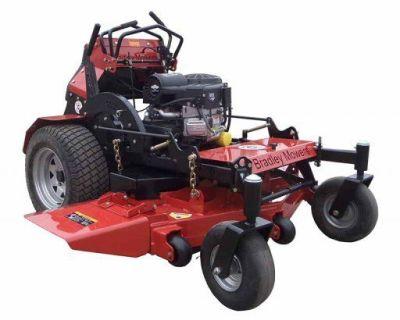 Spring Special: NEW Bradley Stand on Mower Vanguard 24 hspr / standon