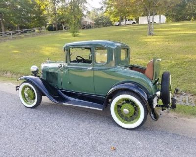 1931 Ford 5 Window All-Steel Coupe Original Restored Stock