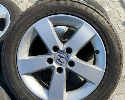 Set of Honda Civic Mags with Runflat tires