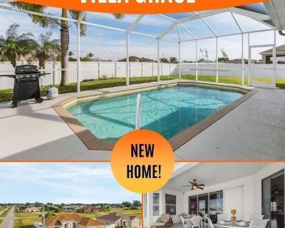 27% OFF! SWFL Rentals - Villa Grace - Beautiful Pool Home in NW Cape - Burnt Store