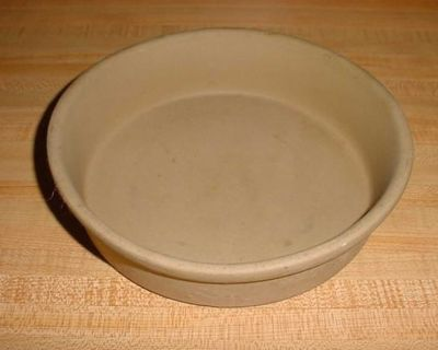 Pre-Owned Pampered Chef Stoneware Mini Deep Dish Baker. Perfect For Small Main Dishes, Side Dishes, Cornbread, Coffee Cake & Cobbler...