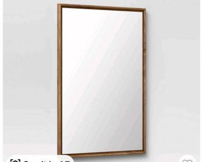 24 x 36 narrow border mirror