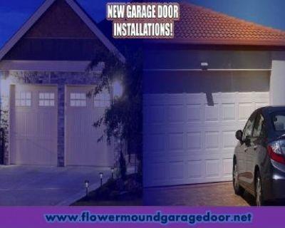 Call 972-402-5550 | Local Garage Door Installation ($25.95) Flower Mound Dallas, 75022 TX