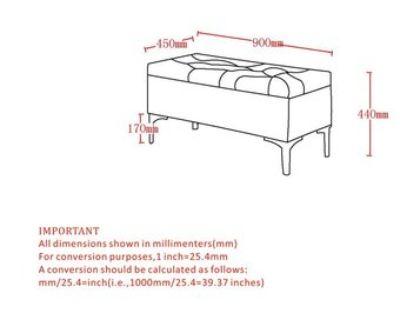 Teal Velvet Storage Ottoman/Bench (LIKE NEW)