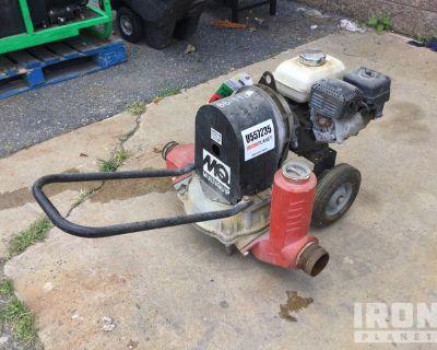 2016 Multiquip MQD3H Water Pump