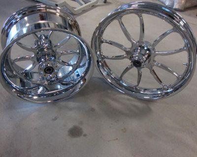Big Dog Chrome 2008-2010 Mastiff Wheel Set Bdm Custom