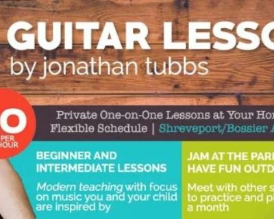 Guitar lessons for children and adults