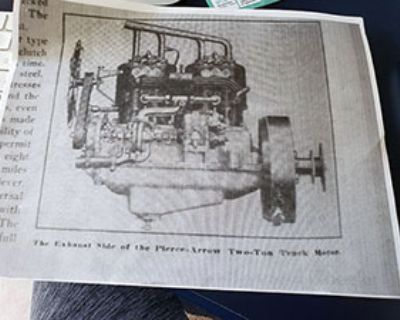 Parts Wanted for Pierce Arrow Two Ton Truck Motor