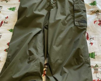 North face insulated snow pant 6T