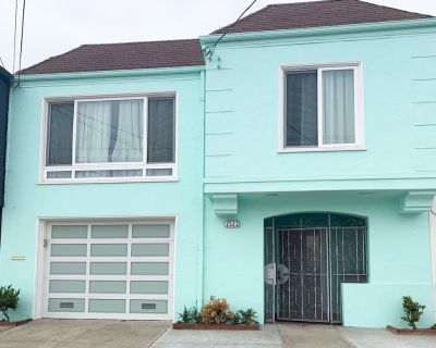 Private 3BR/2BA/Hot Tub/Pet Friendly Next To Ocean Beach - Outer Sunset