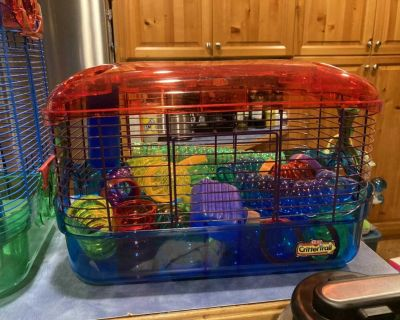 Hamster Cages $30