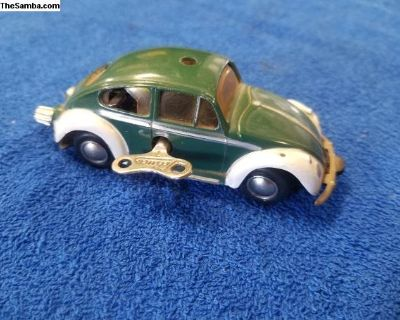 Schuco Micro Wind-Up Racer Police Bug or Beetle
