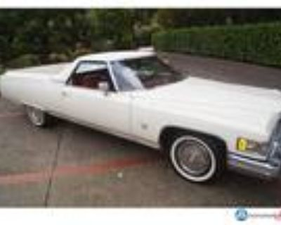 1976 Cadillac Coupe DeVille Pickup