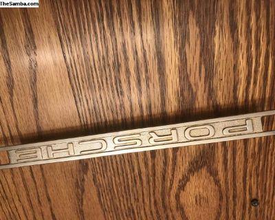Threaded Porsche Roadster Speedster Dash Trim