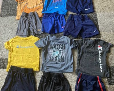 Nike and champion 3t