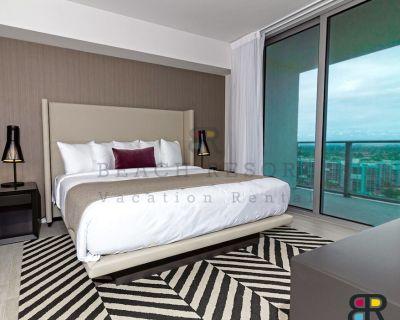 Hyde Beach H. 2 Bedroom luxury suite, Beach Resort Rental. New Full views. - Hollywood South Central Beach