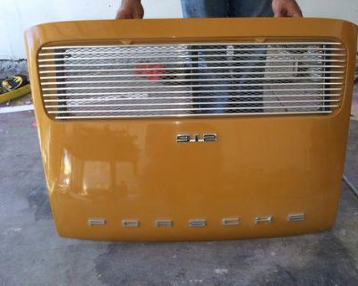 Porsche 911 912 Deck Lid Witg Grill Ready To Install Everthing Is In Tach
