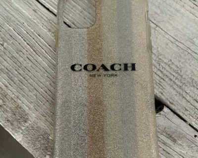 Coach plastic iPhone 11 case good condition