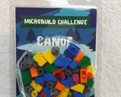 FS NEW, BOOSTER BRICK August 2020 Box Lego Microbuild Challenge Canoe (17796)
