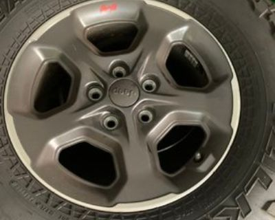 Wisconsin - Rubicon takeoffs - tires and wheels with TPS